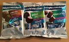 WEIGHT WATCHERS WHITMANS COCONUT MINT PECAN CROWNS CHOCOLATE CANDY 3 BAGS