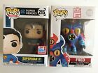 Brand New Toys R Us Exclusive Funko Pop Superman 215 and Big Hero 6 Fred 113