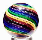 EDDIE SEESE ART GLASS MARBLES 1-11/16