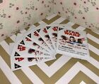 7 Unopened Packs of Star Wars Cosmic Shells Disney Collectible Cards from BiLo