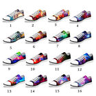 Cool Galaxy Low Top Canvas Shoes Women Ladies Fashion Sneaker Flat Comfort Shoes