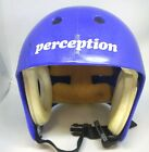 vintage pro-tec perception blue skateboard helmet large rock climbing spelunking
