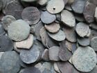 Lot of 45 Ancient Unidentified Uncleaned Coins Islamic Arabic
