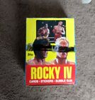 1985 TOPPS ROCKY IV (4) TRADING CARD BOX case fresh 36 packs
