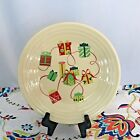 Fiestaware Christmas Gifts Lunch Plate Fiesta Exclusive Ivory 9 in Luncheon NWT