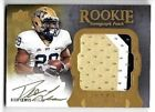 2011 UD Exquisite Dion Lewis On Card Gold Ink Auto 3 Color Patch Rc # 69 135