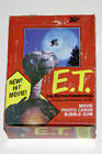 1982 TOPPS E.T. THE EXTRA-TERRESTRIAL Movie Photo Cards Full Wax Box