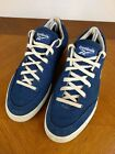 VTG Blue Reebok Lace Up Shoes Mens Size 10 Sneakers Retro Running Casual Classic