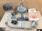 Harley Shovelhead Transmission Finned Points Cover Clutch Lever Pump Parts Lot