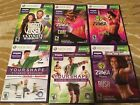 Kinect Xbox 360 6 Games Fitness Bundle Zumba Biggest Loser Your Shape
