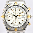 Auth BREITLING Chronomat 2000 Bicolor B13352 Automatic Men's Watch L#72909