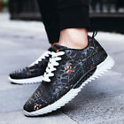 Mens Breathable Sneakers Athletic Running Fitness Shoes Casual Sports Shoes New