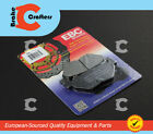 2006 - 2009 YAMAHA FJR 1300 AE ELECTRIC SHIFT ABS - REAR EBC ORGANIC BRAKE PADS