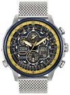 Citizen Men's Eco-Drive Blue Angel Navihawk AT Chrono World Watch JY8031-56L