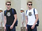 New 1King Herry Delight Fashion Casual T-shirt Short Sleeve O-Neck Cotton Tee