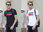 New 1Pepsi Clasic Logo Printed casual T-shiT Short Sleeve O-Neck Cotton Tee