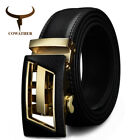 DESIGNER AUTOMATIC BUCKLE LEATHER MEN BELT FASHION GOLD BELTS JEAN DESIGN CZ042