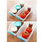 Tabletop Durable Container Refrigerator Fruits Drinks Bins Organizer with Handle