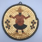 Vintage and Unique Native American (Hopi) Coiled Basket - Second Mesa