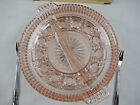 Indiana Glass Peach Roayl Ballad Divided Relish Plate with Server Oneida