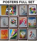 Panini World Cup 2018 Stickers Host City Posters Full Set All 12 20 31