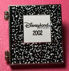DISNEY PIN MICKEY MOUSE MINNIE School Composition Notebook DLR 2002 Hinged LE