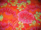 1 4 Yard Kaffe Fassett Pink Orange Lake Blossoms Floral Fabric Quilt 100 Cotton
