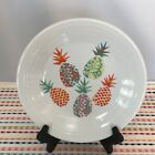 Fiestaware Pineapple Lunch Plate Fiesta White Exclusive Luncheon NWT