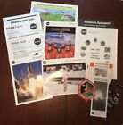 STS 110 SPACE SHUTTLE ATLANTIS NASA MISSION PORTFOLIO SHUTTLE  CREW PIC+ MORE