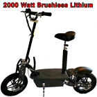New 2021 Blaze Turbo 2000 watt Lithium Brushless 48v 50a Electric Scooter 40mph