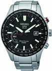Seiko SSF003  Men's New Seiko Sportura GPS Solar World Time Stainless Band