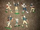 7pc Dan Marino Miami Dolphins 6 starting lineup/SLU 1 other,  figures lot
