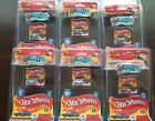 LOT OF 6 HOT WHEELS 2017 WORLDS SMALLEST REAL MINI DIECAST AS PICTURED 516