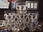 7 Roly Poly Glasses Scotch Whisky 12 oz luxury car emblems Car Collector