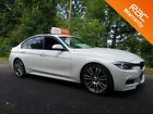BMW 320 20 White 2012 i M Sport Black leather manual petrol car finance