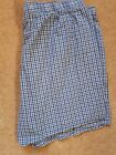 RALPH LAUREN POLO  CLASSIC FIT BOXERS, s X-LARGE  BNWT, BLUE CHECKS,orig fromUSA