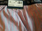 RALPH LAUREN POLO  CLASSIC FIT BOXERS, s X-LARGE  BNWT, PINK AND BLUE STRIPE