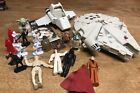 Star Wars Random Mixed Toy Lot Vintage  New Wicket Royal Guard Etc Sold As Is