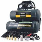 Master Mechanic 154850 AIR COMPRESSOR Twin Tank 2 GALLON - Brand New !