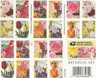 Scott# 5042-5051 BOTANICAL ART 2016, SELF-ADH BOOKLET 20 STAMPS FOREVER STAMPS