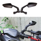 Motorcycle Rear View Mirrors Red 10mm For Suzuki DR 200 DR350 DRZ 400 650 DR650