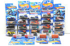 24 pc Hot Wheels Bus+Truck Die Cast Lot 1991 2004 Mattel Oshkosh+Semi Fast NOC