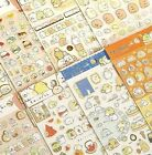 Sumikko Gurashi Stickers Cute Anlimals DIY Japanese Kawaii Sticker sheet