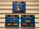 Rare Matchbox My First Playset 3 pack lot of 3 sets vintage
