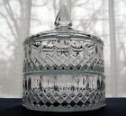 Indiana Glass Clear Princess 2 Tier Stacked 3 Piece Candy Dish Box