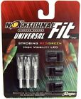 NOCKTURNAL UNIVERSAL FIT LIGHTED NOCKS STROBING ALL COLORS FITS XHSGT 3PK