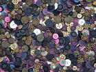 Mixed Lot of Vintage Fancy Buttons 15 oz 400 Buttons 1950s 1960s