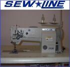 SEWLINE NEW LEATHER WALKING FOOT BIG BOBBIN +REVERSE INDUSTRIAL SEWING MACHINE