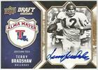 Terry Bradshaw 2009 UPPER DECK DRAFT CERTIFIED AUTO CARD #01 10 SIGNED Steelers