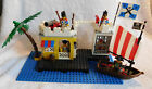 LEGO SET 6267 PIRATE LAGOON LOCK-UP COMPLETE WITH BOX & MANUAL & MINI FIGURES